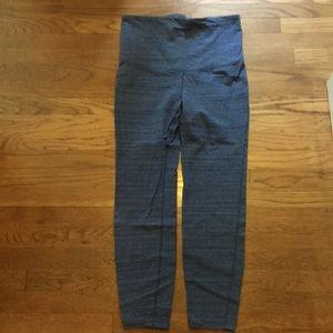 Gapfit maternity active pants, size M, blue, NWOT